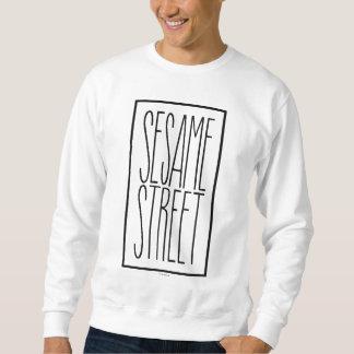 積み重なるセサミストリート スウェットシャツ
