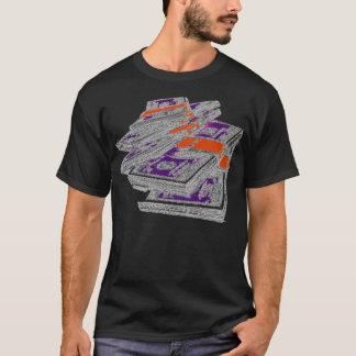 積み重ねおよび積み重ね Tシャツ