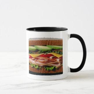 積み重ねられたサンドイッチ マグカップ