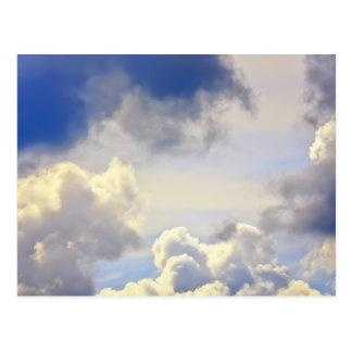積雲の嵐 ポストカード