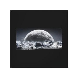 積雲の月 キャンバスプリント