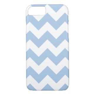 穏かで青いシェブロンのジグザグ形のiPhone 7の箱 iPhone 8/7ケース