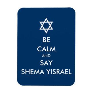 穏やかがShema Yisraelを言うためにあれば マグネット
