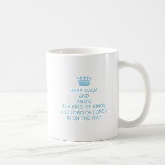穏やかで名前入りで、カスタムな信頼のマグのテンプレートを保って下さい コーヒーマグカップ