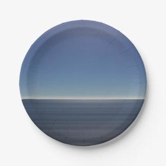 穏やかで青い海 ペーパープレート