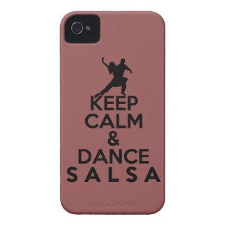 穏やかなおよびダンスのサルサのギフト保って下さい Case-Mate iPhone 4 ケース