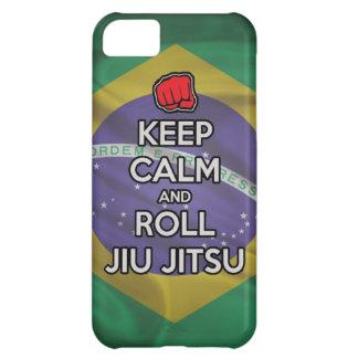 穏やかなおよびロールjiuのjitsu保って下さい iPhone5Cケース