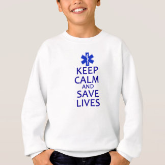 穏やかなおよび保存の生命保って下さい スウェットシャツ