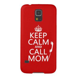 穏やかなおよび呼出しお母さん-すべての色保って下さい GALAXY S5 ケース