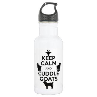 穏やかなおよび抱擁のヤギの水差し保って下さい ウォーターボトル