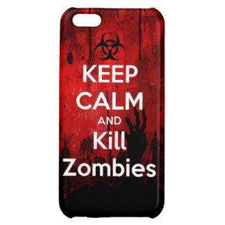 穏やかなおよび殺害のゾンビのゾンビのwa保って下さい iPhone5C