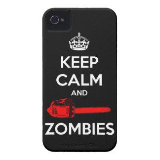 穏やかなおよび殺害のゾンビ保って下さい Case-Mate iPhone 4 ケース