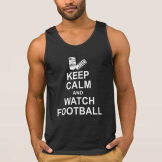穏やかなおよび腕時計のフットボール保って下さい