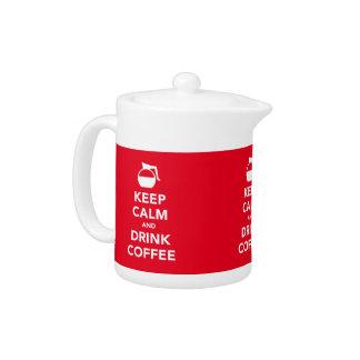 穏やかなおよび飲み物のコーヒーポットは保って下さい(カスタマイズ可能な)