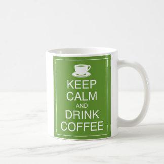 穏やかなおよび飲み物のコーヒー・マグ保って下さい コーヒーマグカップ