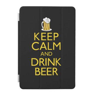 穏やかなおよび飲み物ビール保って下さい iPad MINIカバー