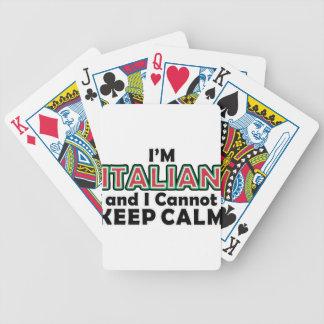 穏やかなイタリア人を保って下さい バイスクルトランプ