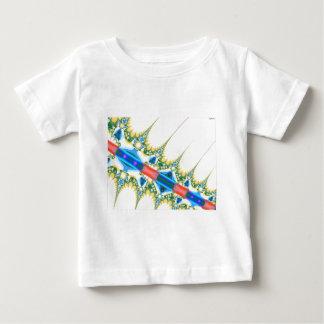 穏やかなスパイク ベビーTシャツ