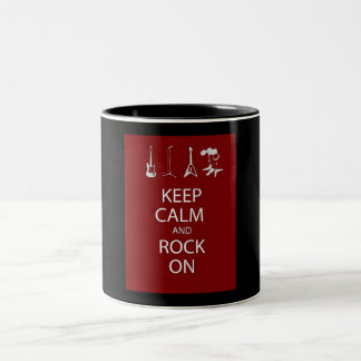 穏やかなマグを保って下さい ツートーンマグカップ