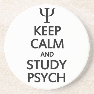 穏やかな及び勉強のPsychのカスタムのコースター保って下さい コースター