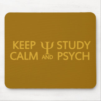 穏やかな及び勉強のPsychのカスタムのmousepad保って下さい マウスパッド
