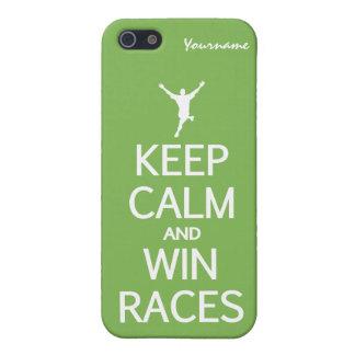 穏やかな及び勝利競争のiPhoneのケース保って下さい iPhone SE/5/5sケース