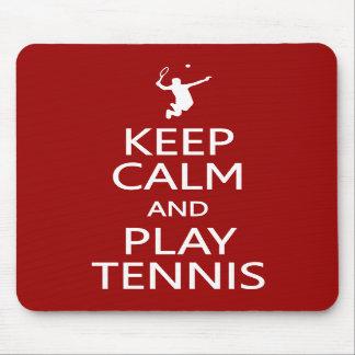穏やかな及び演劇のテニスカスタムな色のmousepad保って下さい マウスパッド