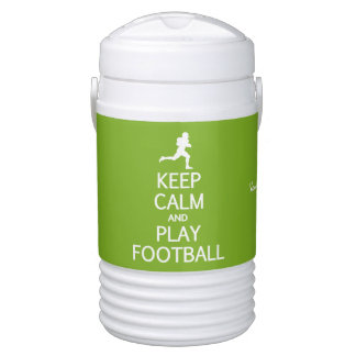 穏やかな及び演劇のフットボールのカスタムな飲料のクーラー保って下さい ドリンククーラー