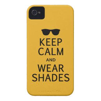 穏やかな及び衣服の陰のブラックベリーのはっきりしたな場合保って下さい Case-Mate iPhone 4 ケース