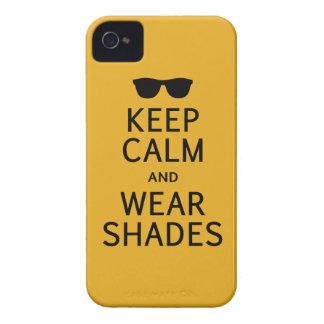 穏やかな及び衣服の陰のiPhone 4の穹窖保って下さい Case-Mate iPhone 4 ケース