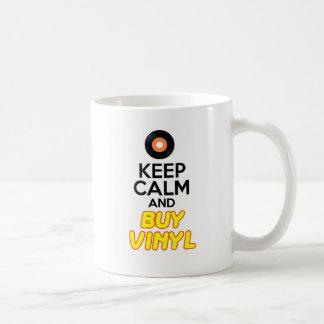 穏やかな及び買物のビニール保って下さい コーヒーマグカップ