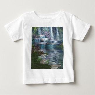 穏やかな滝 ベビーTシャツ