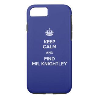 穏やかな発見の氏を保って下さいKnightleyエマジェーンAusten iPhone 8/7ケース