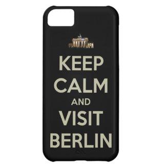 穏やかな訪問ベルリンを保って下さい iPhone 5C ケース