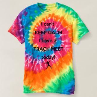 穏やかな陸上競技会のワイシャツを保って下さい! 槍投げのワイシャツ Tシャツ