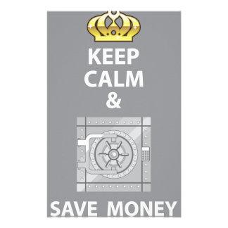 穏やか保ち、お金のベクトルを救って下さい 便箋