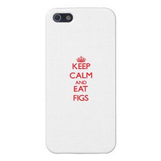穏やか保ち、イチジクを食べて下さい iPhone 5 ケース