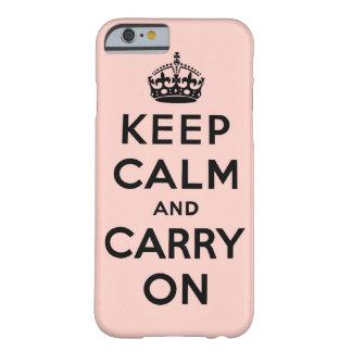 穏やか保ち、オリジナルを続けていって下さい BARELY THERE iPhone 6 ケース