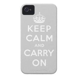 穏やか保ち、オリジナルを続けていって下さい Case-Mate iPhone 4 ケース