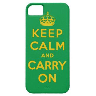 穏やか保ち、オリジナルを続けていって下さい iPhone SE/5/5s ケース