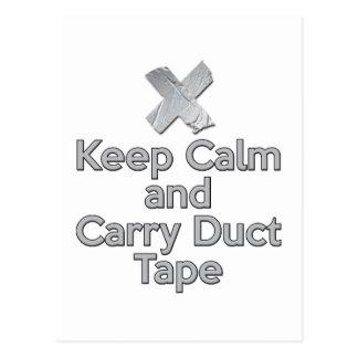 穏やか保ち、ガムテープを運んで下さい ポストカード
