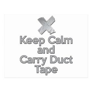 穏やか保ち、ガムテープを運んで下さい 葉書き