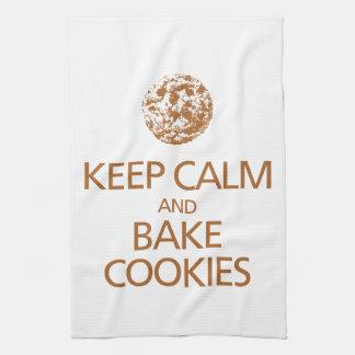 穏やか保ち、クッキーの台所タオルを焼いて下さい キッチンタオル