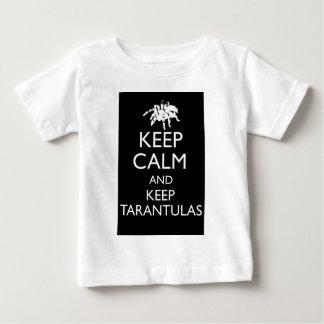 穏やか保ち、タランチュラを飼って下さい ベビーTシャツ
