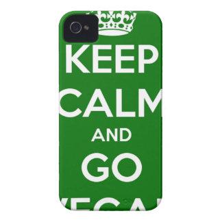穏やか保ち、ビーガン行って下さい Case-Mate iPhone 4 ケース
