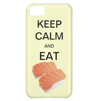 穏やか保ち、寿司の穹窖のiPhone 5の場合を食べて下さい iPhone5Cケース