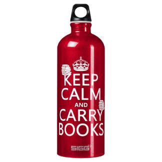穏やか保ち、本を運んで下さい(あらゆる色で) ウォーターボトル