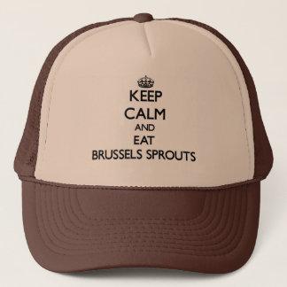 穏やか保ち、芽キャベツを食べて下さい キャップ
