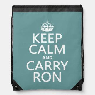 穏やか保ち、運んで下さいRon (どの色でも)を ナップサック