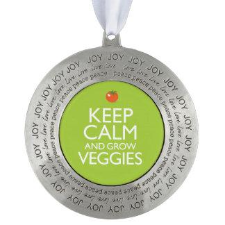 穏やか保ち、野菜を育てて下さい オーナメント